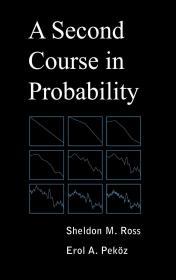 预订 A Second Course in Probability   英文原版  概率论高级课程