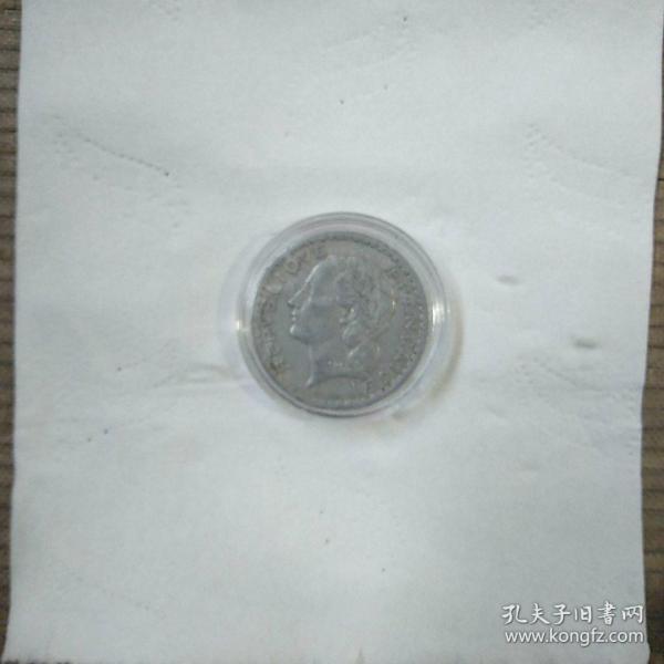外国铝硬币一枚