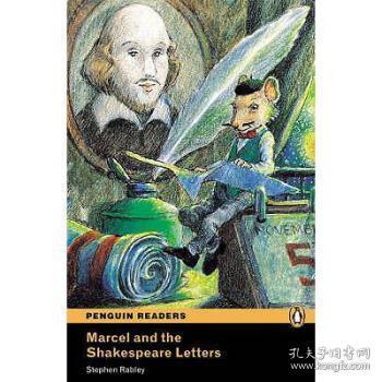 【进口原版】Level 1: Marcel and the Shakespeare Letters Boo...