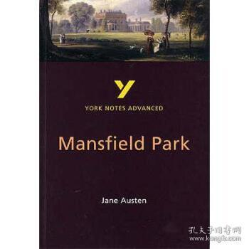 【进口原版】Mansfield Park: York Notes Advanced