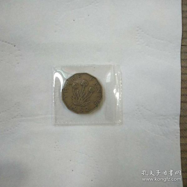 外国铜硬币一枚