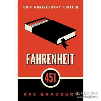 【进口原版】Fahrenheit 451 by Ray Bradbury