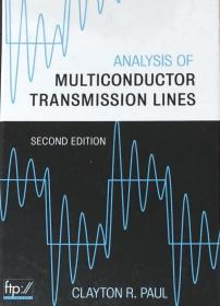 Analysis of Multiconductor Transmission Lines多导体传输线分析   1E12c