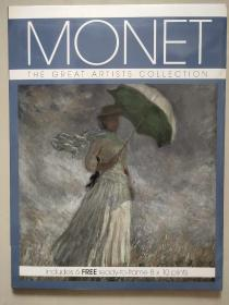Monet (The Great Artists Collection) (Includes 6 Free 8x10 Prints) 英文原版-《伟大艺术家的作品系列:莫奈》(包括6张免费