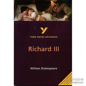 【进口原版】Richard III: York Notes Advanced