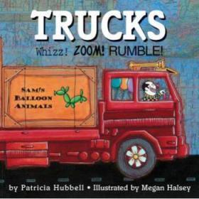 【进口原版】Trucks: Whizz! Zoom! Rumble!