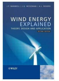 Wind Energy Explained : Theory, Design and Application风能解释:理论、设计与应用  1E12c