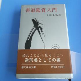 书道鉴赏入门。日文版,大师之作。图片多。