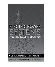 Electric Power Systems : A Conceptual Introduction电力系统:概念介绍 1E12c