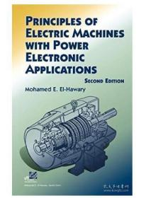 Principles of Electric Machines with Power Electronic Applications电力电子应用电机原理 1E12c