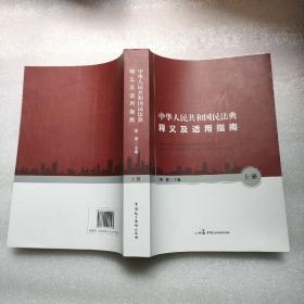 中华人民共和国民法典释义及适用指南(上册)