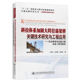 斜拉体系加固大跨径箱梁桥关键技术研究与工程应用——以东明黄河公路大桥改造工程为依托