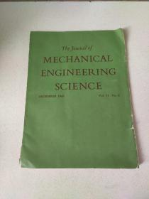MECHANICAL ENGINEERING SCIENCE 1969:机械工程科学1969