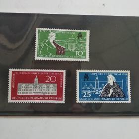 外国邮票一套