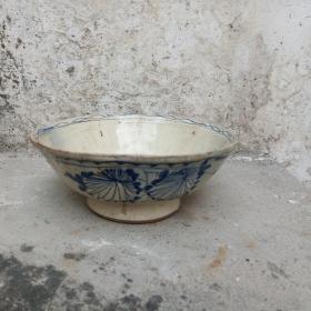 民国潮州瓷,青花碗