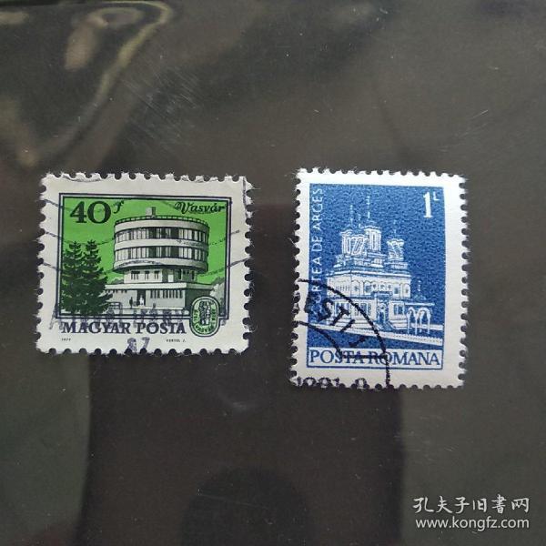 外国建筑二枚