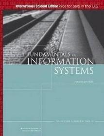 Fundamentals of Information Systems, International Edition: A Managerial Approach