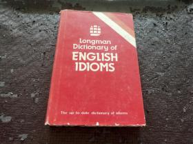 LONGMAN DICTIONARY OF ENGLISH IDIOMS 朗文英语成语词典