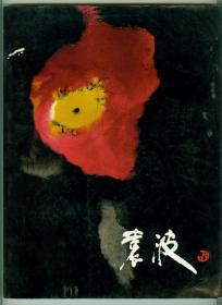 大16开画家签赠本彩版画册《袁波画集》仅印0.5万册