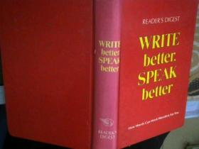 WRITE better.SPEAK bette