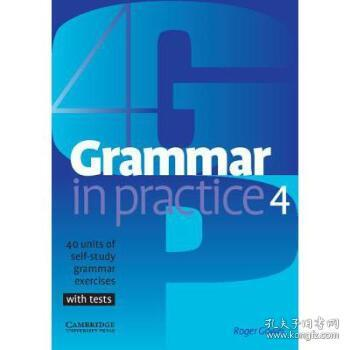 GrammarinPractice4:40UnitsofSelf-StudyGrammarExercises,withTests