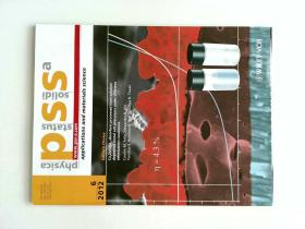 Physica Status Solidi A - APPLICATIONS AND MATERIALS SCIENCE 2012/6 固体物理 外文原版杂志
