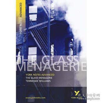【进口原版】Glass Menagerie: York Notes Advanced