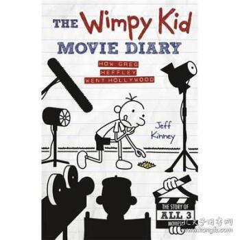 【进口原版】Wimpy Kid Movie Diary: How Greg Heffley Went...