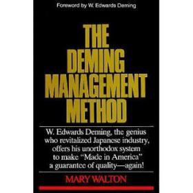 【进口原版】Deming Management Method: The Bestselling Cl...