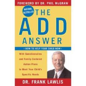 【进口原版】The Add Answer: How to Help Your Child Now
