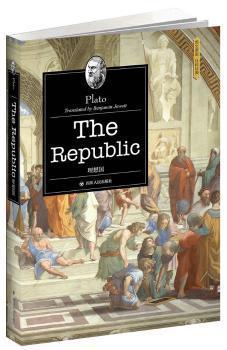 全新正版图书 理想国柏拉图四川人民出版社9787220102394 古希腊罗马哲学英文只售正版图书