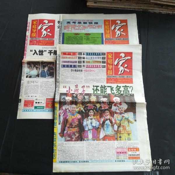 家庭导报 16版第55期65期178期1999年