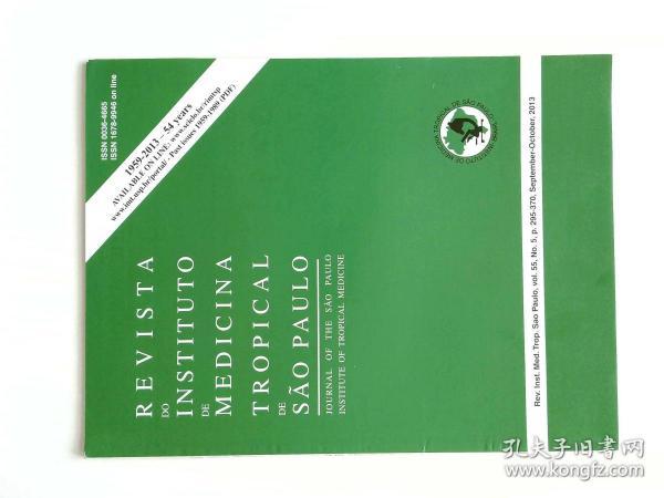 REVISTA DO INSTITUTO DE MEDICINA TROPICAL DE SAO PAULO  2013/09-10 外文原版期刊