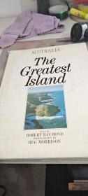 外文原版 THE GREATEST ISLAND 澳大利亚的岛