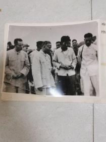 六七十年代刘少奇主席视察开封(原版照片)附底片