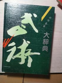 中华武术大辞典(16开精装本)
