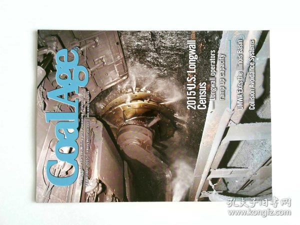 COAL AGE (Magazine) 02/2015  煤炭期刊可做样板间道具摄影道具杂志