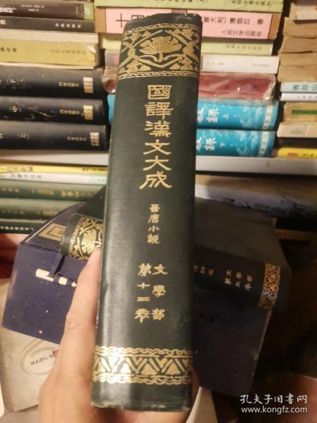 国译汉文大成晋唐小说 现货