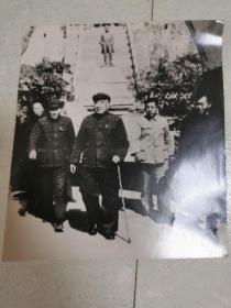 1963年朱德委员长在开封龙亭(原版照片)