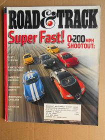 Road and Track 2007年9月号