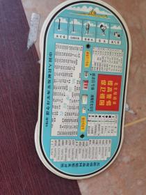 1976年毛主席语录(各国国旗及蒋帮.脑朝鲜旗帜)(通语信号旗.摩斯灯光符号)