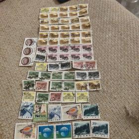 邮票:普通票74枚
