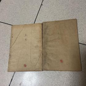 毛泽东文艺思想 第一分册,第二分册