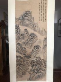 黄宾虹弟子著名画家许南湖精品山水