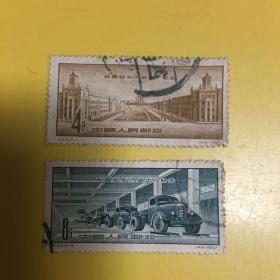 纪40我国自制汽车出厂纪念