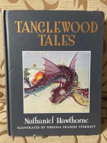 Tanglewood tales - 《探戈林故事》 - 霍桑经典 超大开本插图版 - calla editions 出品 极厚重