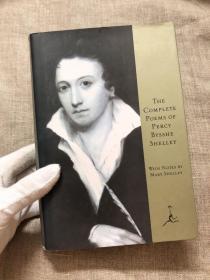 The Complete Poems of Percy Bysshe Shelley (Modern Library) 雪莱诗全集【Mary Shelley前言注释,现代文库,英文版,精装】