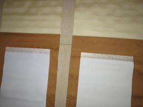 日本旧裱书画立轴 绢面 6幅