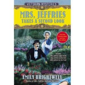 【进口原版】Mrs. Jeffries Takes a Second Look: A Victori...