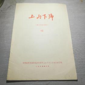 上山下乡12  (株洲经验专辑)